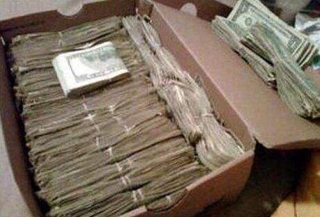 Ayakkabı kutusunda 4.5 milyon dolar!