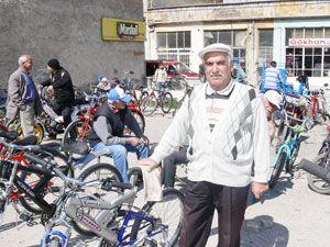 İkinci el bisiklet pazarına yoğun ilgi