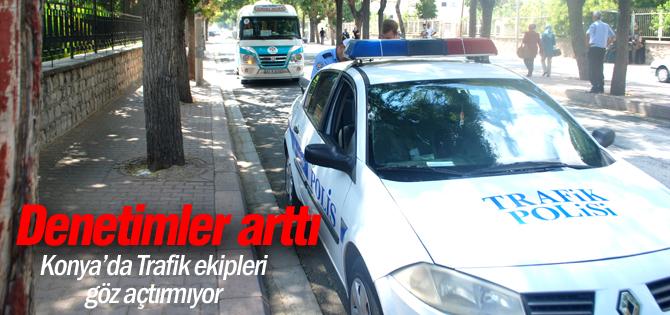Trafik Şube Müdürlüğü denetimleri arttırdı