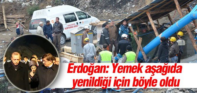 Erdoğan Ermenekteki faciayı değerlendirdi