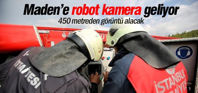 Ermeneke robot kamera geliyor