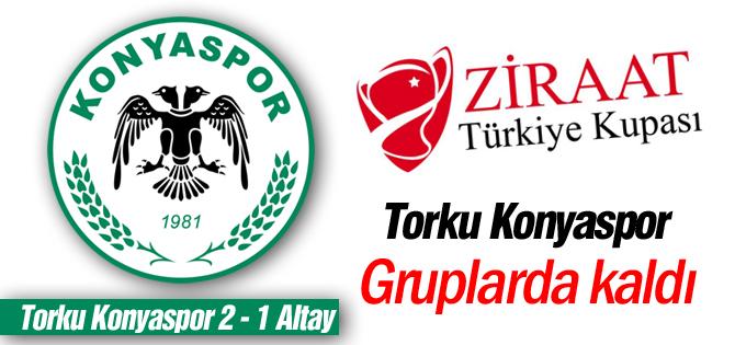 Torku Konyaspor gruplara kaldı