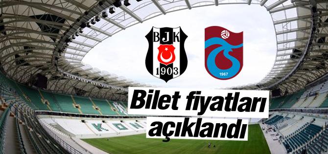 Beşiktaş-Trabzon maçı bilet fiyatları açıklandı