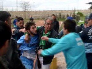 Anadolu Dere-Ereğli maçında kavga çıktı