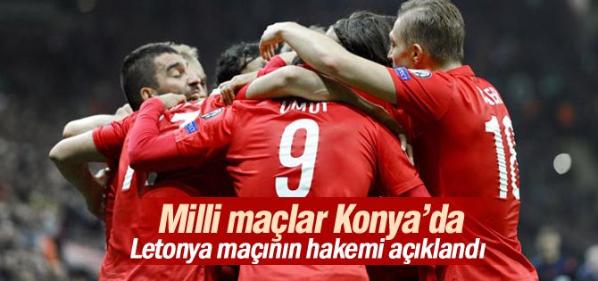 Türkiye - Letonya Maçının Hakemi Açıklandı