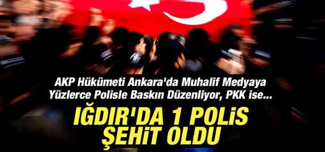 Iğdır'dan acı haber: 1 polis şehit!