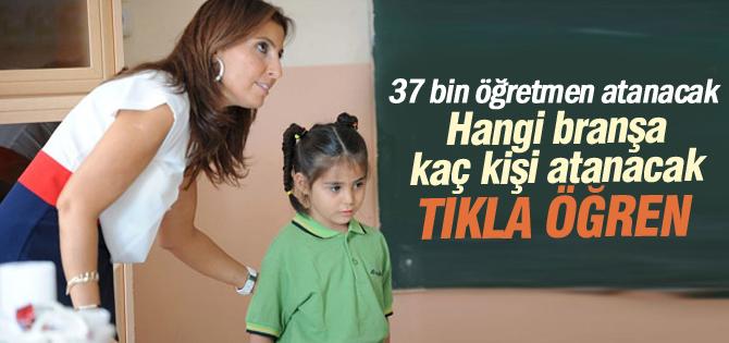 Öğretmen atamaları Eylülde yapılacak