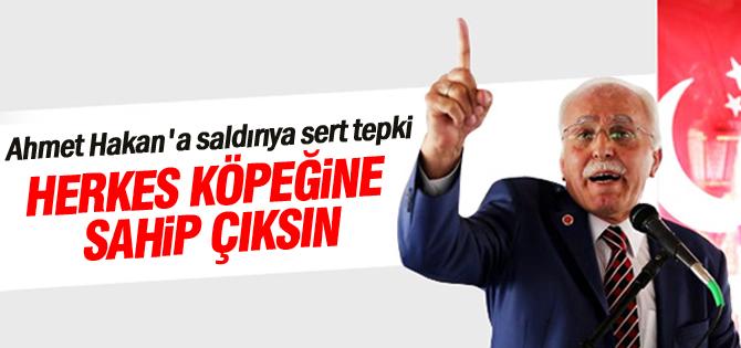 Kamalaktan Ahmet Hakana saldırıya sert tepki