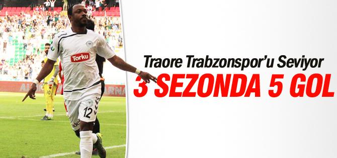 Traore Trabzonspor'u Seviyor