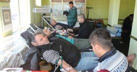 Tepekentliler kan bağışında bulundu