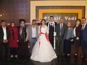 Ahmet Gerçeker oğlunu evlendirdi