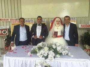 Büşra ve Ahmet mutluluğa 'evet' dedi