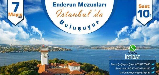 Enderun mezunları İstanbulda buluşuyor