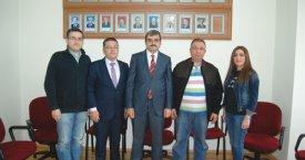 Eczacılardan Karacaya hayırlı olsun ziyareti
