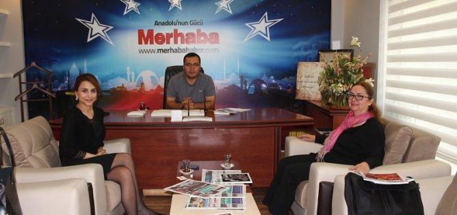 Dünyagöz'den Merhaba Gazetesi'ne ziyaret