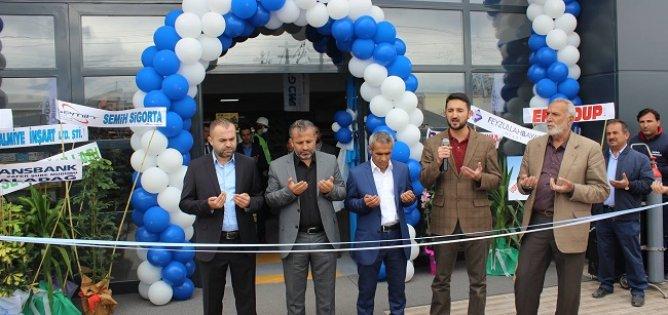 MD Makine ve Hırdavat  binası hizmete açıldı