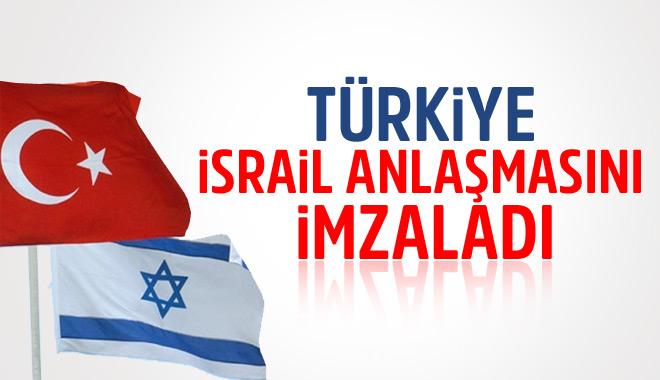 Türkiye İsrail Anlaşmasını İmzaladı