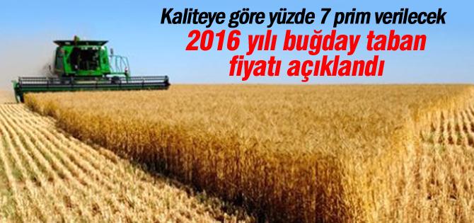 2016 yılı buğday taban fiyatı açıklandı