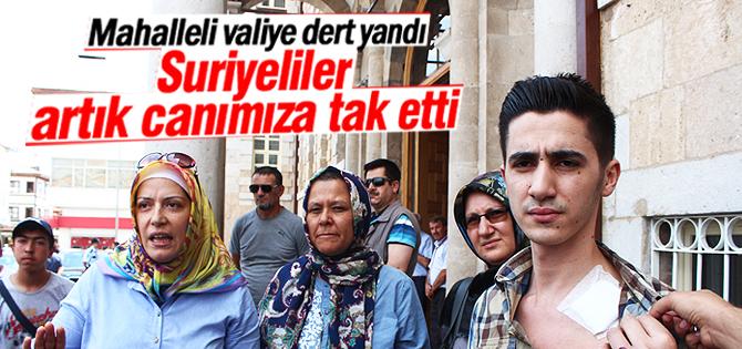 Anneler Suriyeli sorunu ile ilgili Vali Canbolat ile görüştü