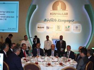 Konyalılar iftarda Başkent'te buluştu