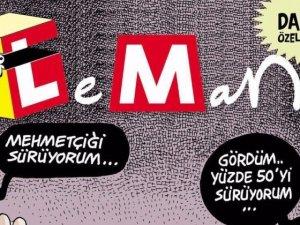 Leman dergisi kanlı darbeye tiyatro dedi