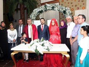 İbrahim Erkan kızını evlendirdi
