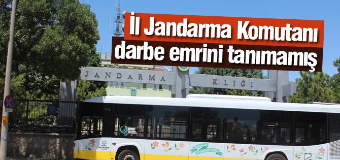 Konya Jandarma Komutanı Darbe Emrini Tanımadı