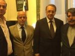 PYD lideri Rus yetkili ile bir arada