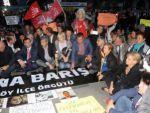 CHPli vekiller Ankarada ölenler için mum yaktı