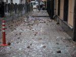 Türkiyenin Moskova Büyükelçiliğine taşlı saldırı