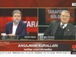 CNN Türkte Ahmet Hakana sert yanıt