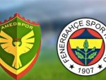 Amedspor ile Fenerbahçe berabere kaldı