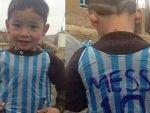 Poşet formalı Messi ülkesini terk etti!