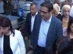 HDPli İdris Baluken ve heyeti Surda protesto edildi