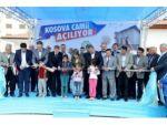Restore edilen Kosova Cami açıldı