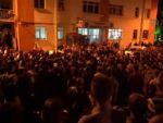 Türk bayrağı yakıldı iddiası Kütahyayı karıştırdı