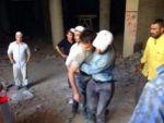 Kulu'da İskeleden Düşen 2 Sıva İşçisi Yaralandı