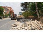 Ereğli Belediyesi Halkapınar Yolunu Genişletiyor